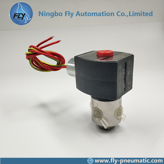 8320G202 EF8320G202 ASCO 8320 series 1/4 inch Stainless Steel Body NORMALLY CLOSED Explosion Proof Solenoid Valve