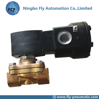 "8210G002 EF8210G002 ASCO Pilot Operated Explosion Proof 1/2"" Brass Body General Service Solenoid Valve"