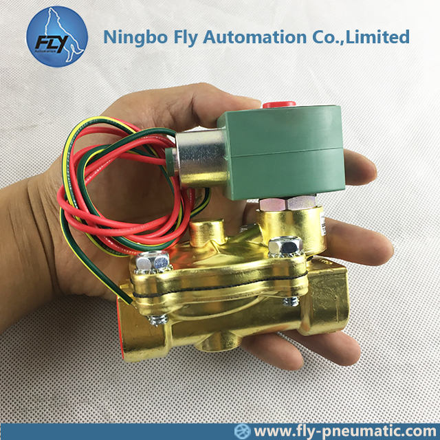 8210G003 EF8210G003 ASCO 8210 series Pilot Operated Explosion Proof 3/4 inch Brass Body General Service Solenoid Valve