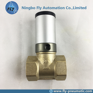 Q22HD-25 Actuator control valve Q22HD Series PTFE Seals 2/2 1 inch Pipe Valve Shut-off valve Copper