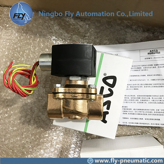"8210G009 EF8210G009 ASCO 8210 series Explosion Proof 3/4"" DN20 Brass Body General Service Solenoid Valve"